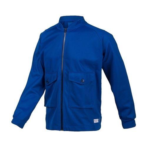 Куртка спортивная мужская adidas Track Top Pocket F50160 (синяя, хлопок, без утеплителя, с логотипом адидас)