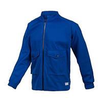 Куртка спортивная мужская adidas Track Top Pocket F50160 (синяя, хлопок, без утеплителя, с логотипом адидас), фото 1