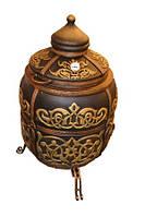 """Тандыр """"Тугарин"""" утепленный большой 170 литров цвет золото"""