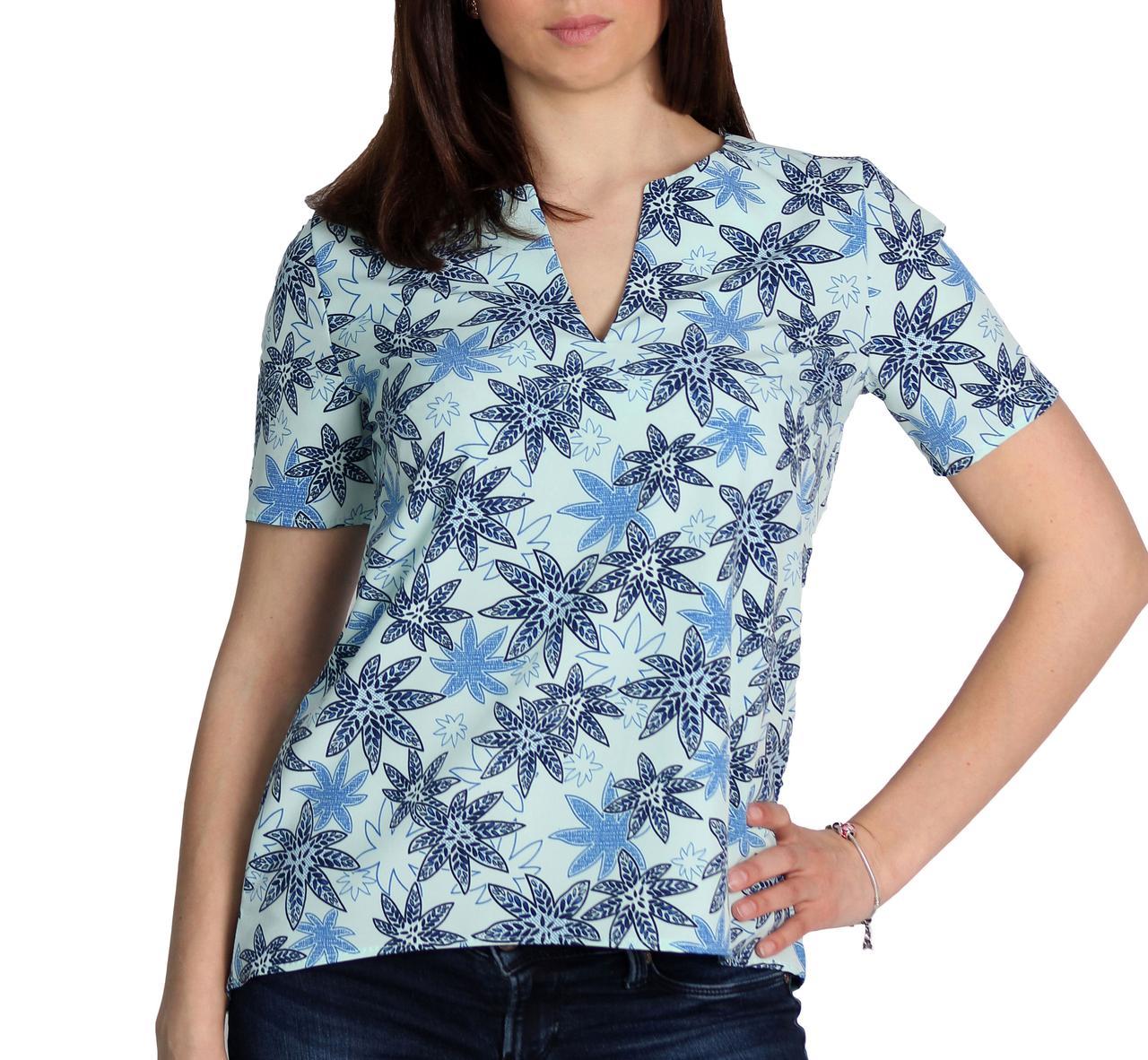"""Женская блузка с коротким рукавом тм """"Tasani"""""""