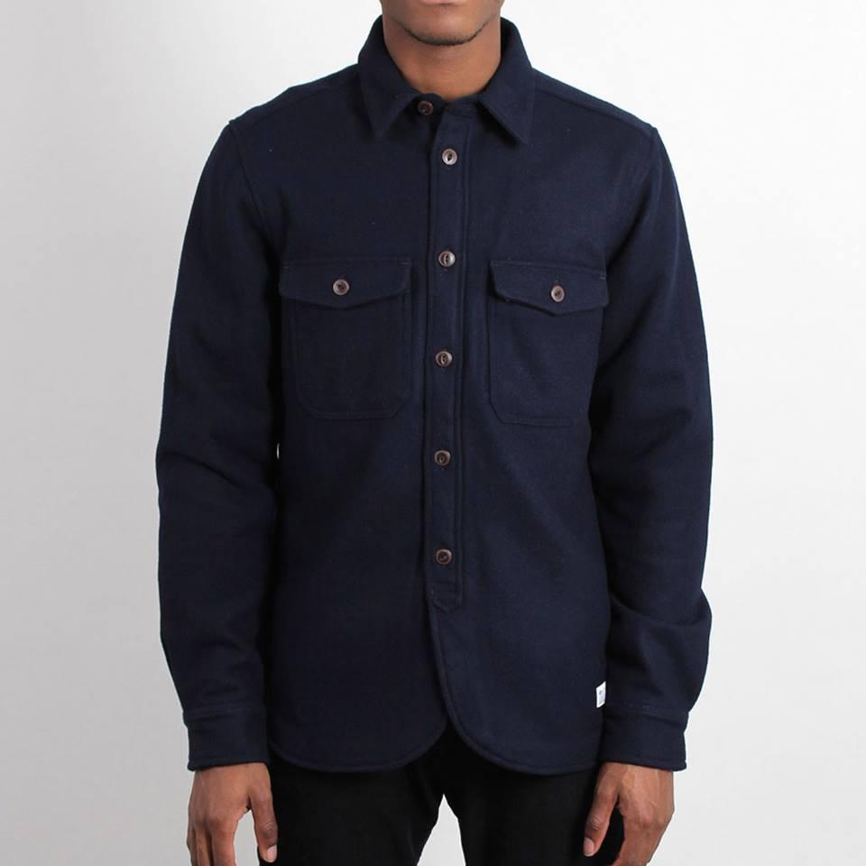 Рубашка мужская adidas Wool Shirt G69000 адидас
