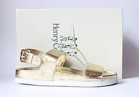 Шикарные кожаные босоножки Henry Cottons, Италия-Оригинал