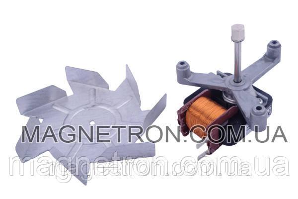 Двигатель вентилятора + крыльчатка для духовки Ardo C16R8118 639000031, фото 2