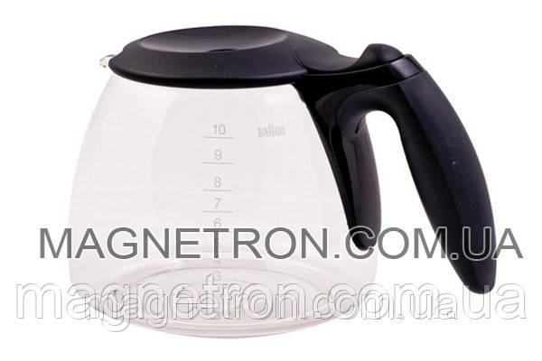Колба с крышкой для кофеварки Braun KFK500 63104704, фото 2