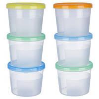 Набор контейнеров судочков для продуктов 3 в 1 1,1л PT-83122