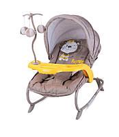 Кресло-качалка-шезлонг DREAM TIME для младенцев до 6 мес.(капюшон, мобиль, столик) ТМ Lorelli (Bertoni) 4 цвета