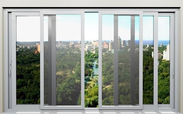 Сетки москитные на окна и двери