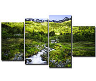Картина на холсте Горы в Норвегии