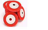 """Шлифовально-зачистные круги 100 мм х 16 мм х 12 мм Нейлон """"Бардовый"""""""