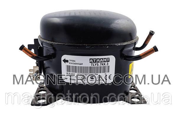 Компрессор для холодильников TLY 5.7 KK3 R600a Атлант 069744106203, фото 2