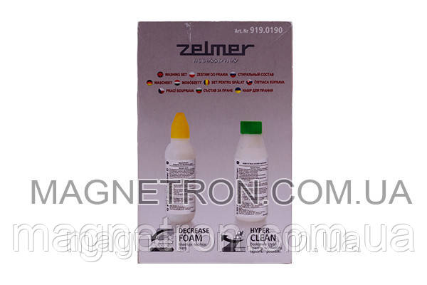 Нейтрализатор пены G478 100ml + шампунь G500 100ml к пылесосу Zelmer ZVCA080X (919.0190) 311724, фото 2