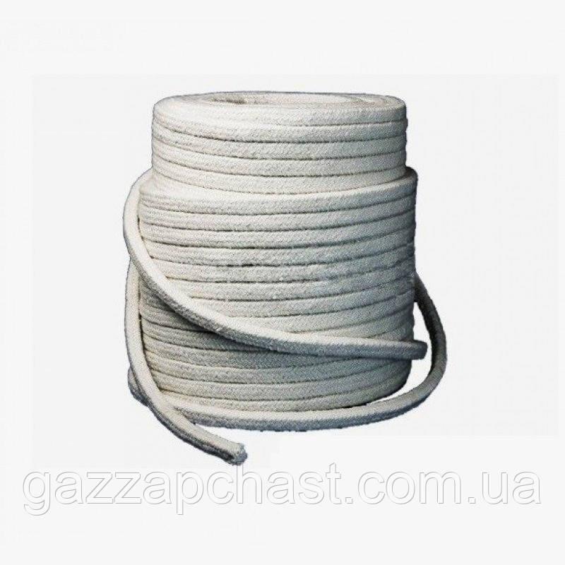 Шнур уплотнительный керамический огнеупорный 10х10 мм (квадрат)