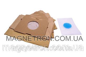 Комплект мешков бумажных (4 шт) + фильтры HR6947 для пылесоса Philips 482201570058