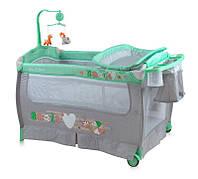 Кровать-манеж SLEEP N DREAM 2 layers plus для детей с 0-3 лет (2 уровня, пеленатор, мобиль) ТМ Lorelli (Bertoni)