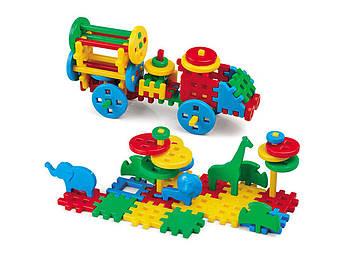 Конструктор дитячий MIX 100 елементів. Виробництво Польща. Гарантія якості. Швидка доставка