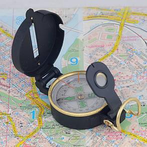 Милтек США компас Engineer черный, фото 2