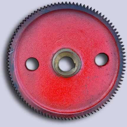 Колесо зубчатое редуктора (механизма) поворота автокрана, фото 2