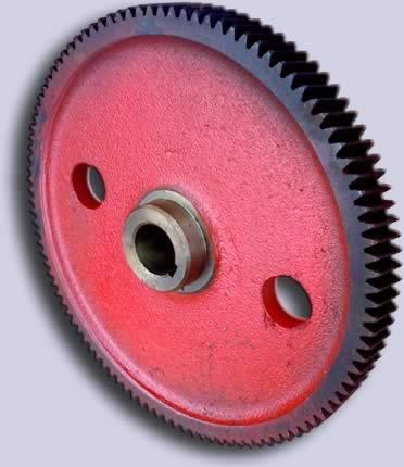 Колесо зубчатое редуктора (механизма) поворота автокрана