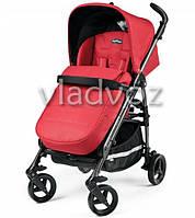 Детская прогулочная коляска трость Peg-Perego Si Completo красная