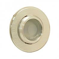 Светильник врезной, поворотный 50W HDL16143R серебро, Delux
