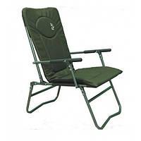 Кресло рыбацкое складное камуфлированное  Elektrostatyk F7R