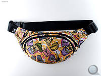 Поясная сумка (бананка) Staff - Print Art. VGR0078 (разные цвета)