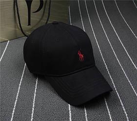 Кепка в стиле Polo черная