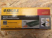 Гвозди SIGMA планочные 32*1,25*1 мм. для пневмостеплера (5000 шт.) Sigma