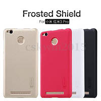 Nillkin Xiaomi Redmi 3 Pro/3S Super Frosted Shield Gold Чехол Накладка Бампер