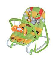 Шезлонг TOP RELAX для новорожденных (0-6 мес, до 9 кг, качание, мобиль, рег спинки) ТМ Lorelli (Bertoni) 5 видов