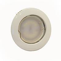 Светильник врезной, неповоротный 50W HL16001 белый, Delux