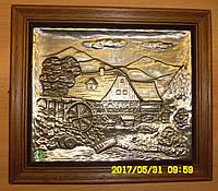 Винтажная оловянная картина Германия