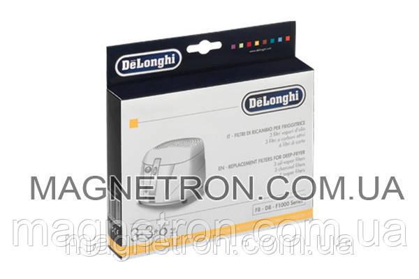 Набор фильтров (12 шт) для фритюрницы DeLonghi 5525101500, фото 2