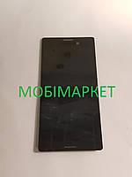 Дисплейний модуль (дисплей + сенсор)  Sony M4 E2333 original чорний