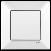 Выключатель VIKO Meridian Белый (90970101)