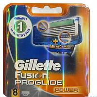 Сменные кассеты (лезвия) Gillette Fusion ProGlide power  8 шт