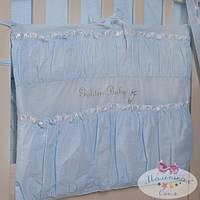 Карман на кроватку Golden Baby цвет Голубой