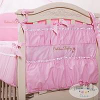 Карман на кроватку Golden Baby цвет Розовый