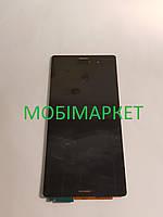 Дисплейний модуль (дисплей + сенсор) Sony Z3 D6653/D6633 original чорний
