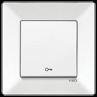 Кнопка дверного замка VIKO Meridian Белый (90970105)