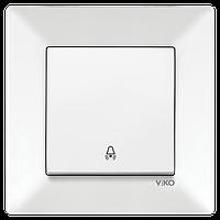 Кнопка звонка VIKO Meridian Белый (90970106)