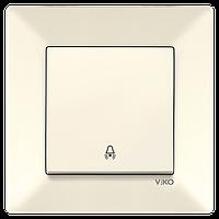 Кнопка звонка VIKO Meridian Крем (90970206)