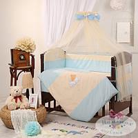 Карман на кроватку Маленькая Соня цвет голубой