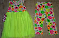 Комплект платье-туника с бриджами