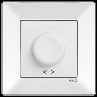 Светорегулятор 1000W R VIKO Meridian Белый (90970169)