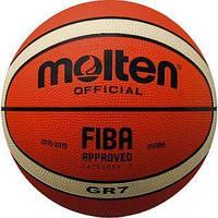 Баскетбольный мяч Molten GR7, Код - BGR7-OI