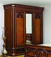 Спальня Колизей ЮрВит (комплект) шкаф 3 двери
