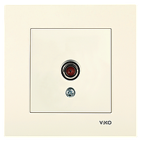 Розетка ТВ VIKO Karre Крем (90960110)