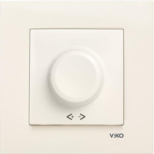 Светорегулятор 1000W R VIKO Karre Крем (90960169)