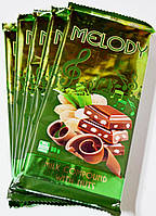 ( Роспродажа 5 штук в 1 пачке ) Молочный шоколад c арахисом Melody 0.100 гр